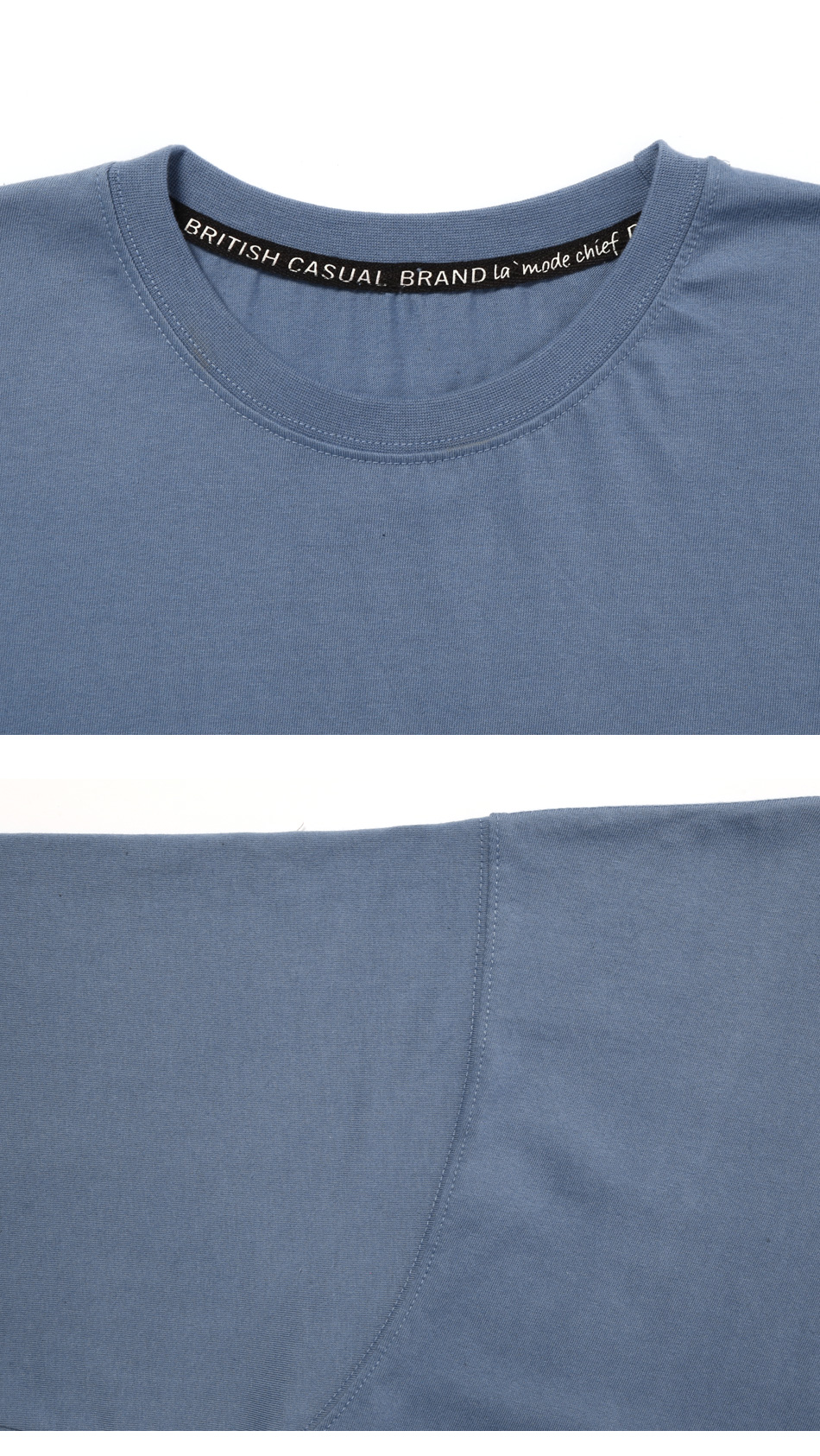 LAMODE OVERFIT COMMON TSHIRT (CLASSICBLUE)